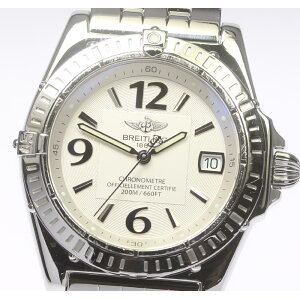 In translation product with box ★BREITLING Breitling Calisto Ladies A77346 Quartz★ [ev15] [used]