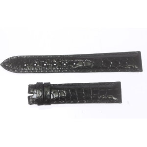 ☆ unused goods ☆ [Breguet] Breguet rug width 18mm black leather belt for wrist watch [ev20]