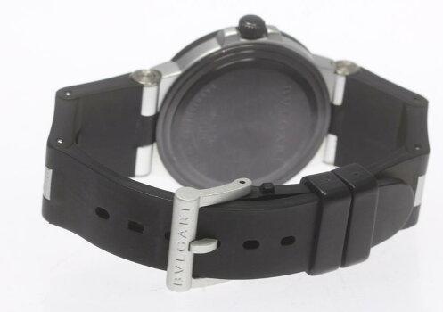new arrival c206d ee3b9 BVLGARI】ブルガリ アルミニウム メンズ腕時計 AL38TA AL38TA ...