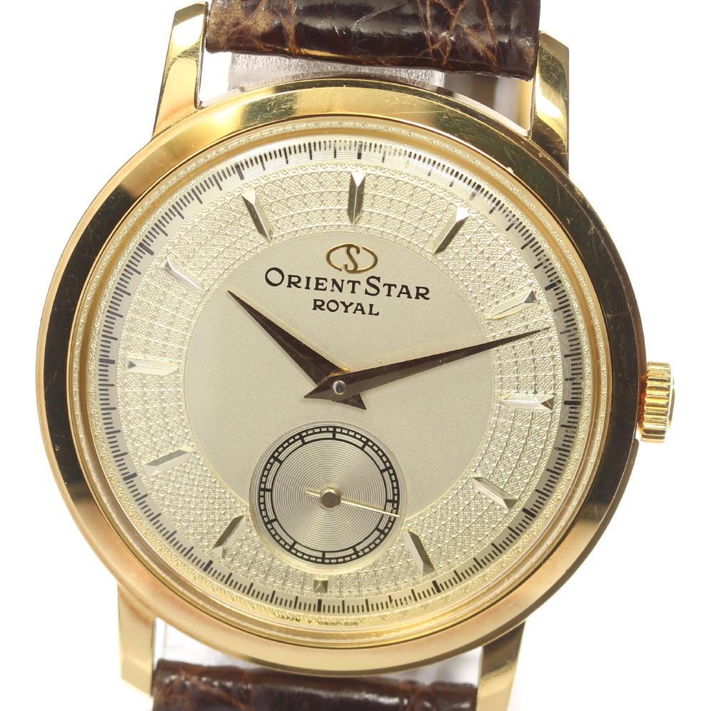 腕時計, メンズ腕時計 ORIENT DN00-A0 K18YG 19080919112