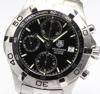 【TAGHEUER】タグホイヤーアクアレーサークロノCAF2110AT◎【】