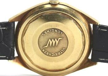 ロンジンウルトラクロンK18YGCal.431自動巻きメンズ腕時計【】
