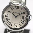 カルティエ バロンブルーMM W69011Z4 ボーイズ クォーツ 腕時計【中古】