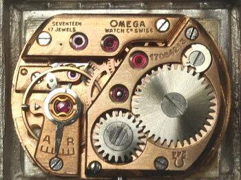 訳有【OMEGA】オメガプラチナダイヤケースcal.244手巻き♪【】