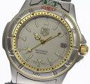 タグホイヤー 4000 695.706K 自動巻き シルバー ブレス メンズ腕時計 ※訳有 ◆【中古】