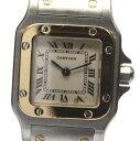 【Cartier】カルティエ サントスガルベSM W20012C4 SS×K18YG コンビ クォー ...