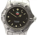 箱保証書付 タグホイヤー 2000シリーズ 669.213 自動巻き ボーイズサイズ腕時計【中古】