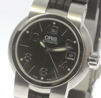 【ORIS】オリスTT1ダイバー7524自動巻きラバーベルトレディース【】