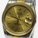 ジャンク品 ロレックス 68273 S番 穴無ケース Cal.2135 自動巻き ボーイズ 腕時計【中古】【170617】【10%フェア】