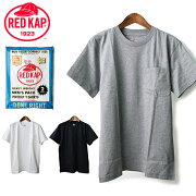 パケット キャップ ポケット Tシャツ ヘビーウェイト コットン ホワイト ブラック