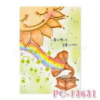 【もんシリーズ】ポストカード【イラスト・はがき・PostCard・葉書・癒し・かわいい】【クローズピンClothesPin】