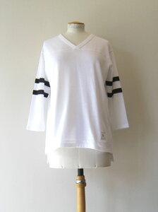 AMERICANA アメリカーナAMERICANA 43プリントフットボールTシャツ[BRF-068A]【ネコポス発送可・1点まで】