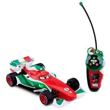 国内未発売 ディズニーストア限定 Cars 2 カーズ2 フランチェスコ・ベルヌーイ ラジコン