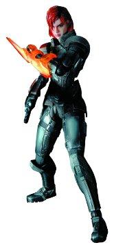 コレクション, フィギュア 3 Mass Effect 3 Play Arts Kai Female Commander Shepard Action Figure :