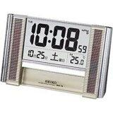 SEIKO CLOCK (セイコークロック) 置き時計 ソーラークロック 電波時計 ツイン・パ デジタル SQ638S