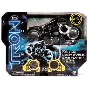 TRON:LEGACY トロン:レガシー デラックス ライトサイクル サム・フリン/DELUXE LIGHT CYCLE SAM FLYNN スピンマスター