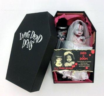 產品詳細資料,日本Yahoo代標 日本代購 日本批發-ibuy99 興趣、愛好 收藏 收藏娃娃 MEZCO リビング・デッド・ドールズ シリーズ DIED&DOOM EXCLUSIVE タワーレ…