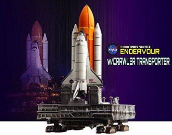 DRAGON 1/400 スペースシャトル エンデバー w/クローラー・トランスポーター プラッツ