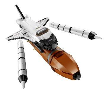 レゴ クリエイター・スペースシャトル 10213