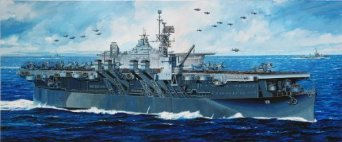 ミリタリー, 戦艦 1350 U.S.S. CVL-22() DRAGON