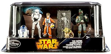 コレクション, フィギュア Disney - Star Wars The Empire Strikes Back Six Figure Play Set