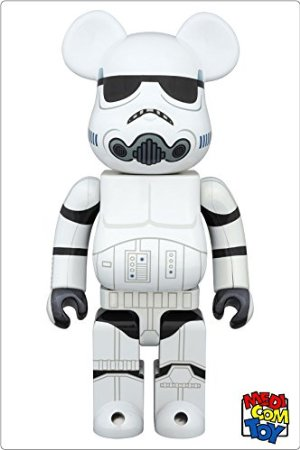 コレクション, フィギュア medicom toy BEARBRICK STAR WARS STORMTROOPER(TM) CHROME Ver.400 (400)