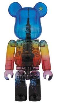 コレクション, フィギュア BERBRICK 55th TOKYO TOWER MAGIC TIME Ver.100