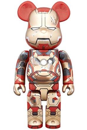コレクション, フィギュア  BERBRICK IRON MAN MARK XLII42 DAMAGE Ver. 400 2015 WF Medicom Toy