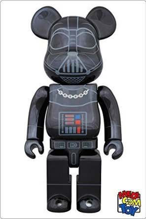 コレクション, フィギュア medicom toy BEARBRICK STAR WARS DARTH VADER(TM) CHROME Ver.400 (400)