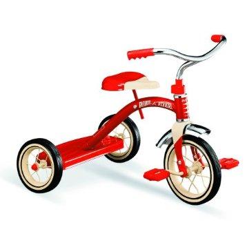 (ラジオフライヤー) Radio Flyer クラシック トライサイクル 3輪車 レッド 10インチ