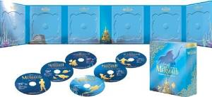 リトル・マーメイド トリロジー MovieNEX (期間限定) [ブルーレイ+DVD+デジタルコピー(クラウド対応)+MovieNEXワールド] [Blu-ray]:クロソイド屋
