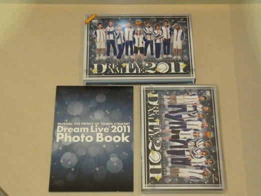 ミュージカル『テニスの王子様』コンサート Dream Live 2011 DVD:クロソイド屋