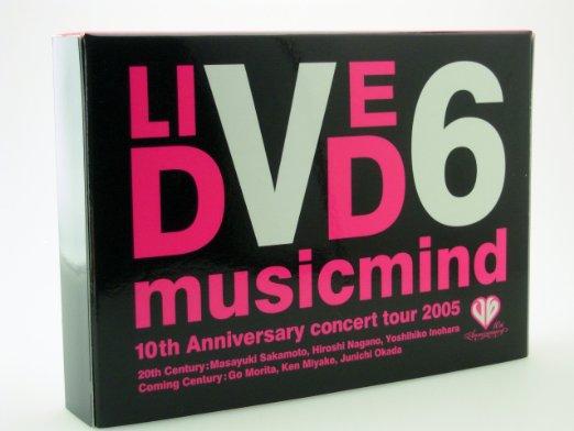 "V6 10th Anniversary CONCERT TOUR 2005 ""musicmind"" 限定版 Aタイプ [DVD]:クロソイド屋"