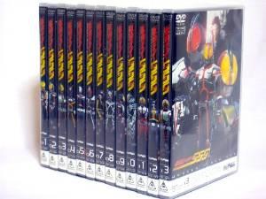 仮面ライダー555 DVD全13巻セット 新品