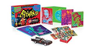 バットマン コンプリートTVシリーズ コレクターズBOX(数量限定生産/13枚組) [Blu-ray] 新品:クロソイド屋