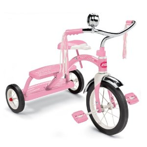 Radio Flyer Girls Classic Pink Dual Deck Tricycle ラジオフライヤー