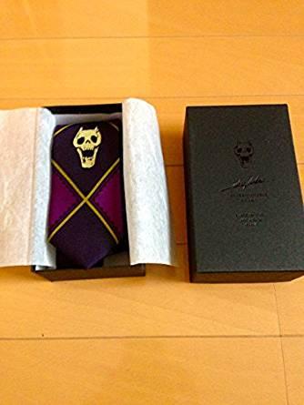 コレクション, その他 KILL A Jacquard tie Purple ultra-violence