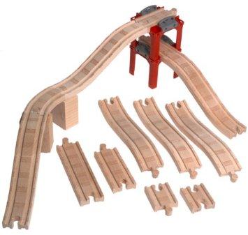ラーニングカーブ きかんしゃトーマス 木製レール 拡張線路セット(スロープ) 99931 RC2