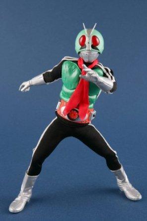 RAH(リアルアクションヒーローズ) 220DX 仮面ライダー新1号 (1/8スケール ABS&ATBC-PVC塗装済み可動フィギュア) メディコム・トイ