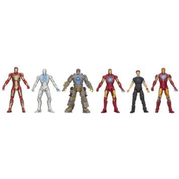 アイアンマン3 3.75インチアクションフィギュア 6体セット ホール・オブ・アーマー コレクション / MARVEL IRON MAN 3 HALL OF ARMOR ホールオブアーマー:クロソイド屋