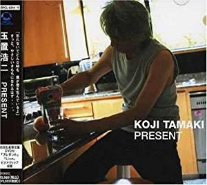 PRESENT(初回生産 盤)(DVD付)玉置浩二CDマルチレンズクリーナー付き新品