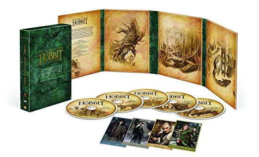 ホビット 竜に奪われた王国 エクステンデッド・エディション DVD版(初回限定生産/5枚組) 新品:クロソイド屋