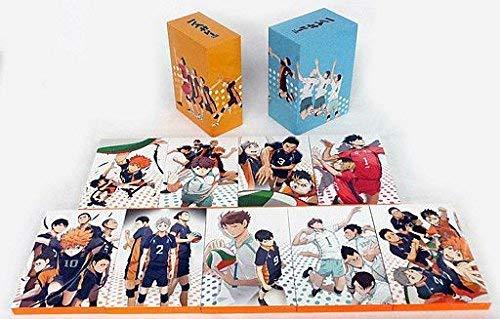 DVD ハイキュー!! 初回生産 限定版 全9巻 セット (アニメイト 限定 全巻 収納BOX付き) 新品 マルチレンズクリーナー付き