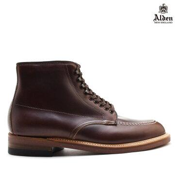 オールデン ALDEN 403 INDY BOOTS CHROMEXCEL インディ ブーツ クロムエクセル メンズ ダーク ブラウン DARK BROWN ワークブーツ