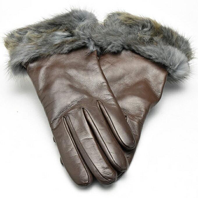 手袋・アームウォーマー, レディース手袋  ALPO nappa 1520 083conker
