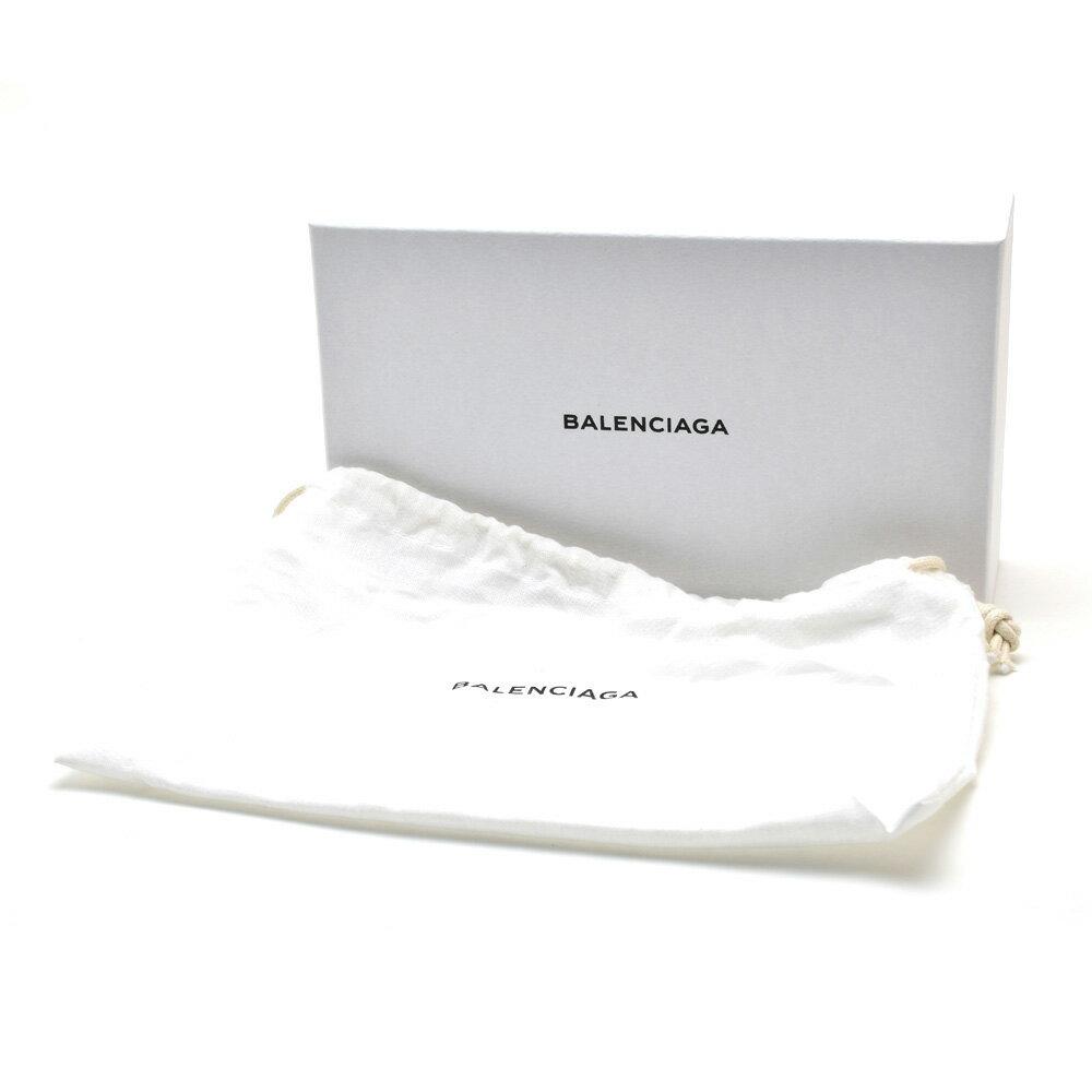 バレンシアガ BALENCIAGA 253036 D940G/1000 CLASSIC CONTINENTAL ZIP AROUND WALLET クラシック コンチネンタルジップ ラウンドファスナー長財布 ブラック 黒 レディース