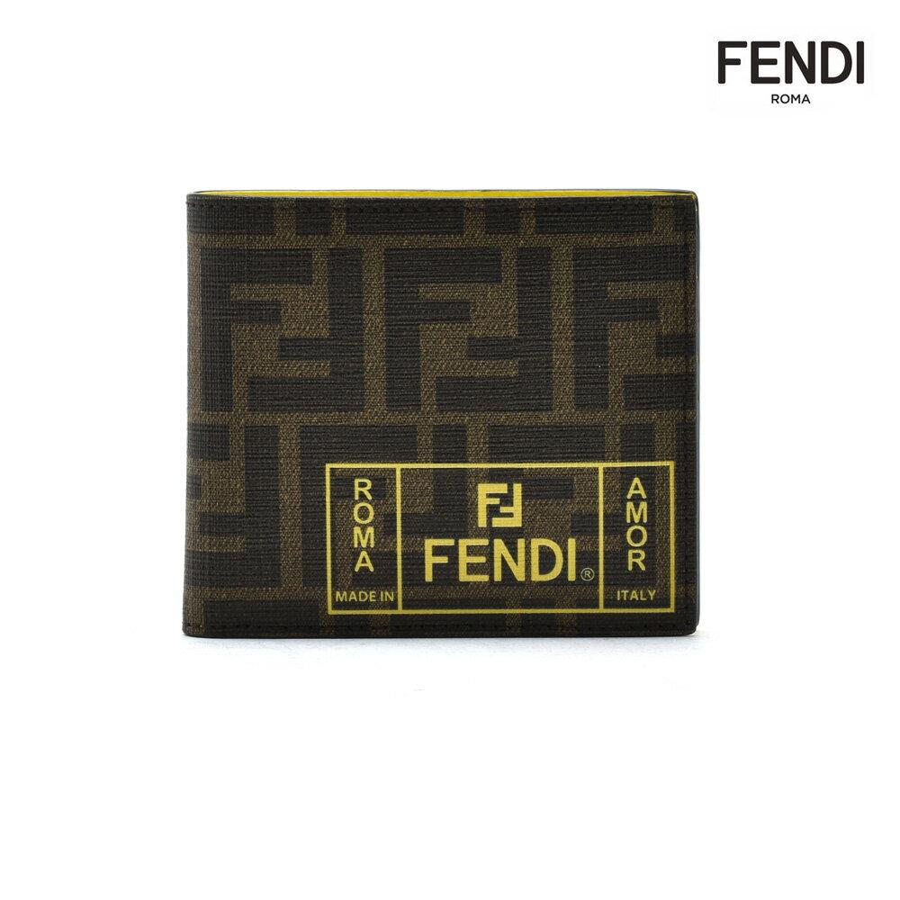 財布・ケース, メンズ財布  FENDI 7M0169 A7SBF17HW FENDI LABEL WELLET FF