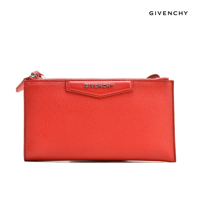 ジバンシー GIVENCHY BC0 6836 012/610 ショルダー ポーチ 財布 レッド 赤 RED レディース【送料無料】