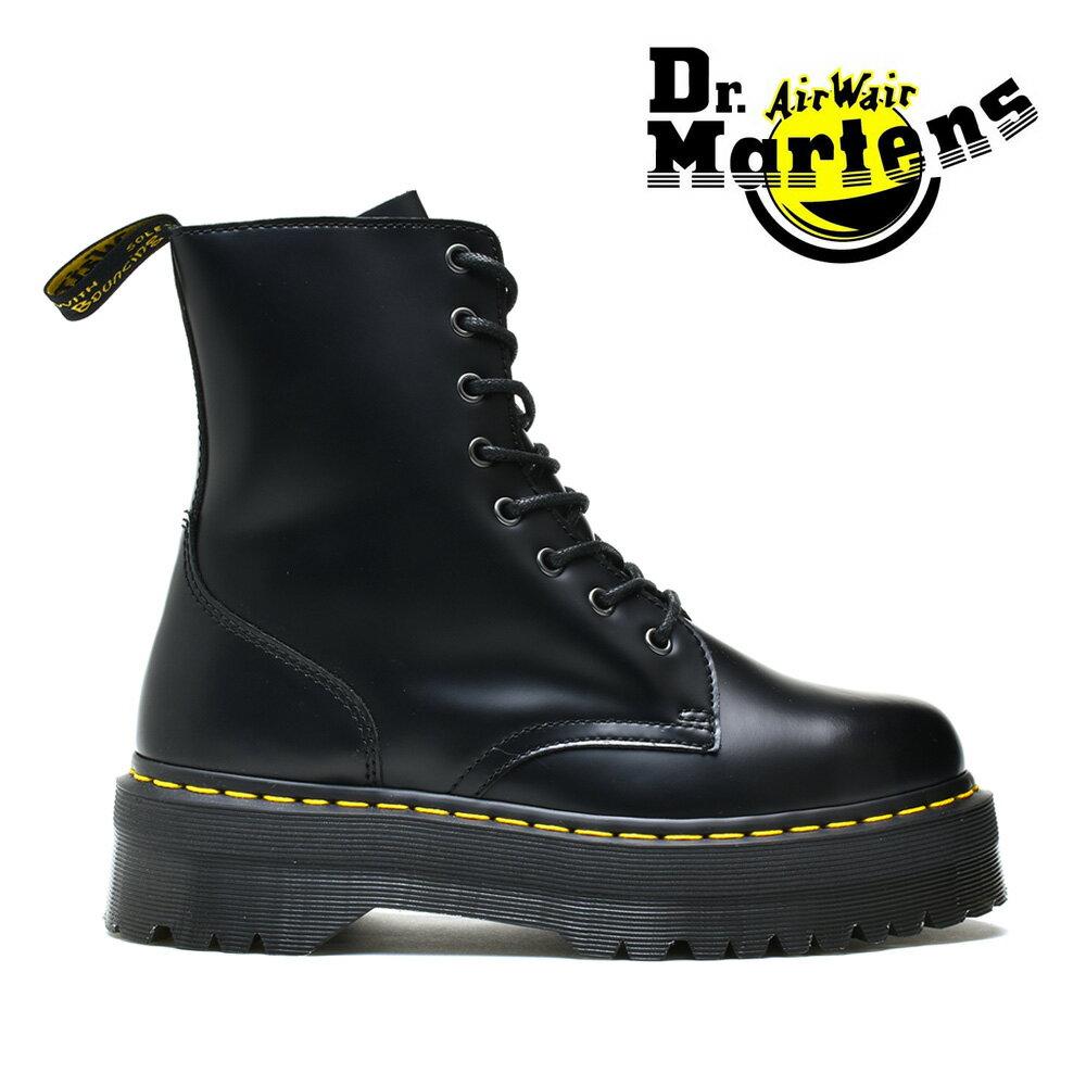 ドクターマーチン Dr.Martens ブーツ ジェードン 8ホール ブーツ JADON 8EYE BOOT R15265001 ブラック メンズ【送料無料】画像
