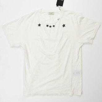 YSL 聖羅蘭巴黎洛朗 403478 Y2WK2/9744 T 襯衫自然婦女 / 上衣 /TOPS 02P01Oct16